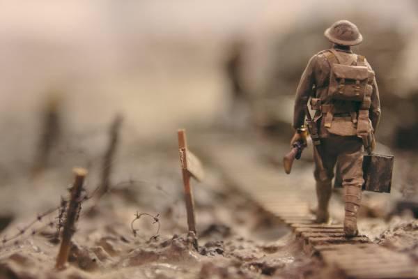 THE MIND AT WAR